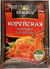 Заправка СЭН СОЙ д/моркови по-корейски 80г