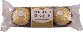 Конфеты FERRERO ROCHER Хруст из мол шок покр измел орешк с нач из крема и лес ореха 38г