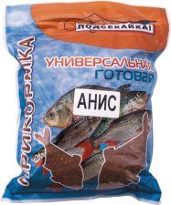 Прикормка д/рыб ПОДСЕКАЙКА д/рыбалки готовая универсальная, в п/э пакете 1кг