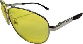 Очки д/водителей POPULAR с желтыми линзами