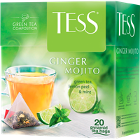Чай зеленый TESS Джинджер Мохито к/уп