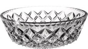 Салатник CRYSTAL BOHEMIA Diamond 21см, хрусталь