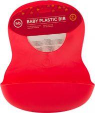 Нагрудник дет HAPPY BABY пластик