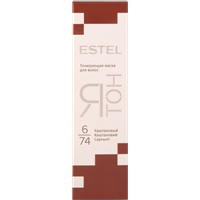 Маска для волос ESTEL Ятон Каштановый 6/74 тонирующая