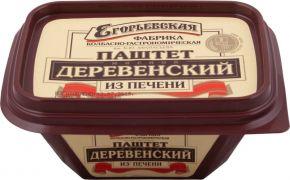 Паштет КФ ЕГОРЬЕВСКАЯ Деревенский из печени 150г