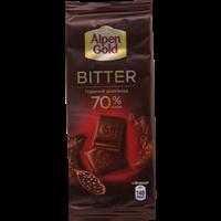 Шоколад ALPEN GOLD Горький