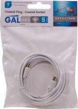 Удлинитель GAL антенный 3C2V L=5м (штекер-гнездо)