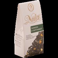 Чай зеленый NADIN Лимон и бергамот аром. лист. к/уп