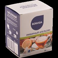 Чай зеленый BONVIDA Имбирный апельсин