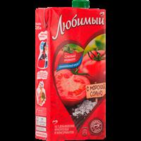 Нектар ЛЮБИМЫЙ Томатный с солью с мякотью д/д.п. т/пак.