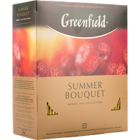 Чай GREENFIELD Summer Bouquet к/уп