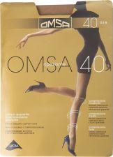 Колготки жен OMSA 40den caramello 5