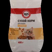 Корм для кошек 365 ДНЕЙ С курицей сух.