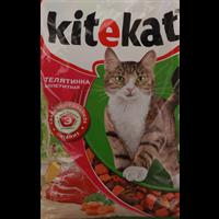 Корм для кошек KITEKAT Телятинка аппетит