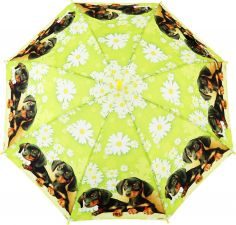 Зонт дет RAINDROPS эффект рисунка 3D, 52см ПВХ, 8спиц фиберглас, ручка-крюк цв