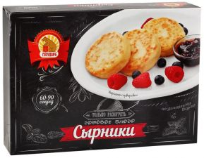 Сырники ГОСУДАРЬ по-домашнему зам 150г